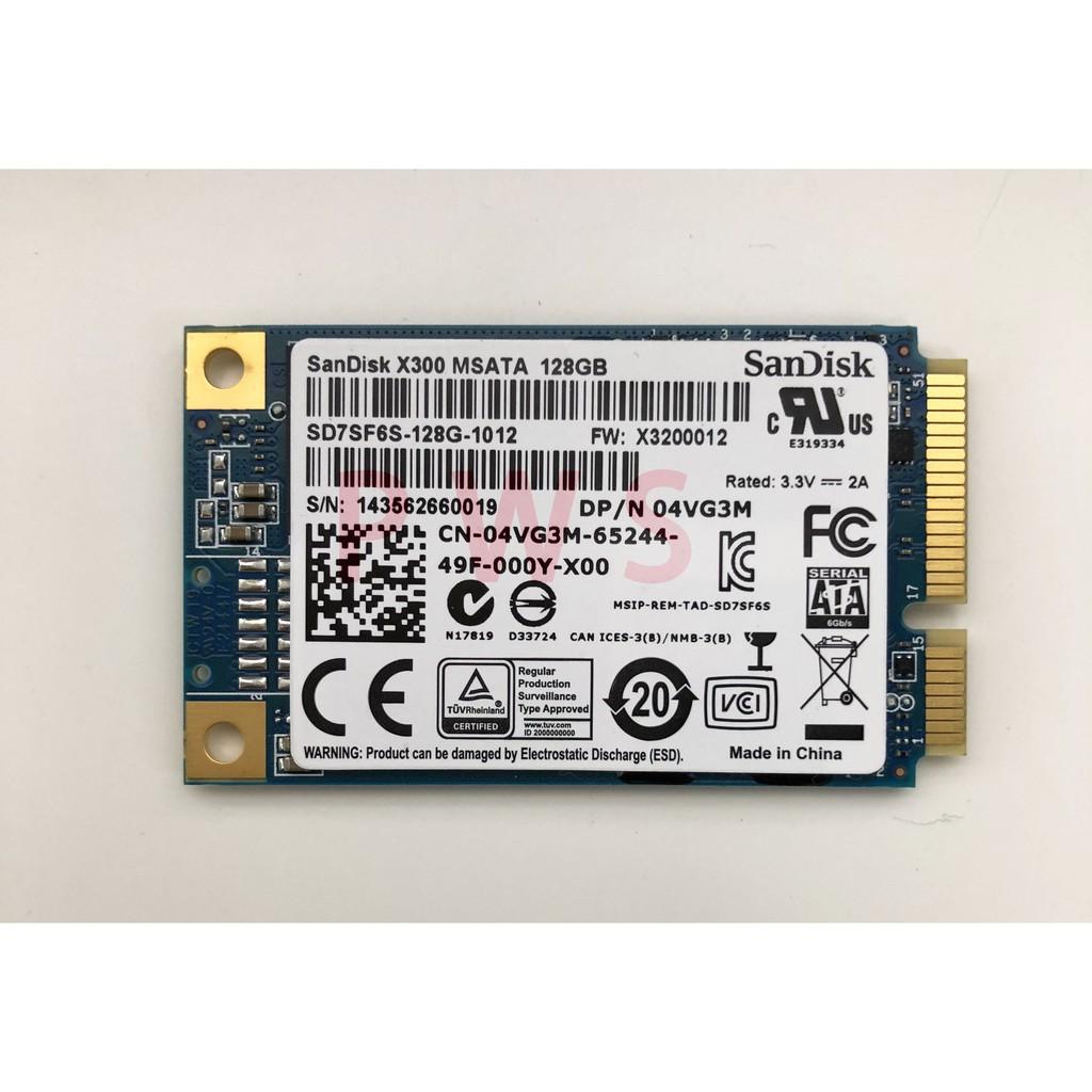 ☆【SANDISK X300 128G 固態硬碟 msata SSD 128G 128GB】☆