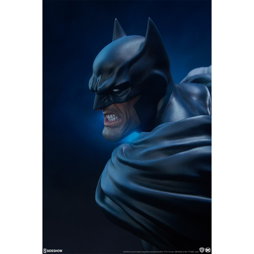 【撒旦玩具 SatanToys】預購 SIDESHOW DC 蝙蝠俠 半身胸像 DC Batman Bust 美漫 暗黑