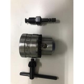 ROHM 德國製 衝擊式起子機轉電鑽 四分夾頭 1/ 2 -20UNF 三爪夾頭整組(含扳手)+4分六角接桿 台中市