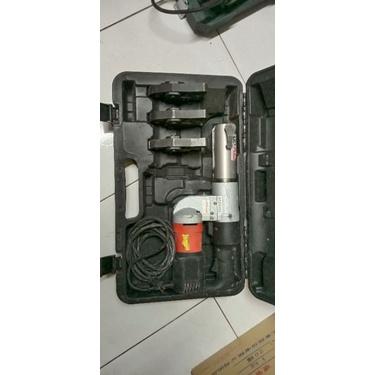 二手Asada插電式不繡鋼管壓接機