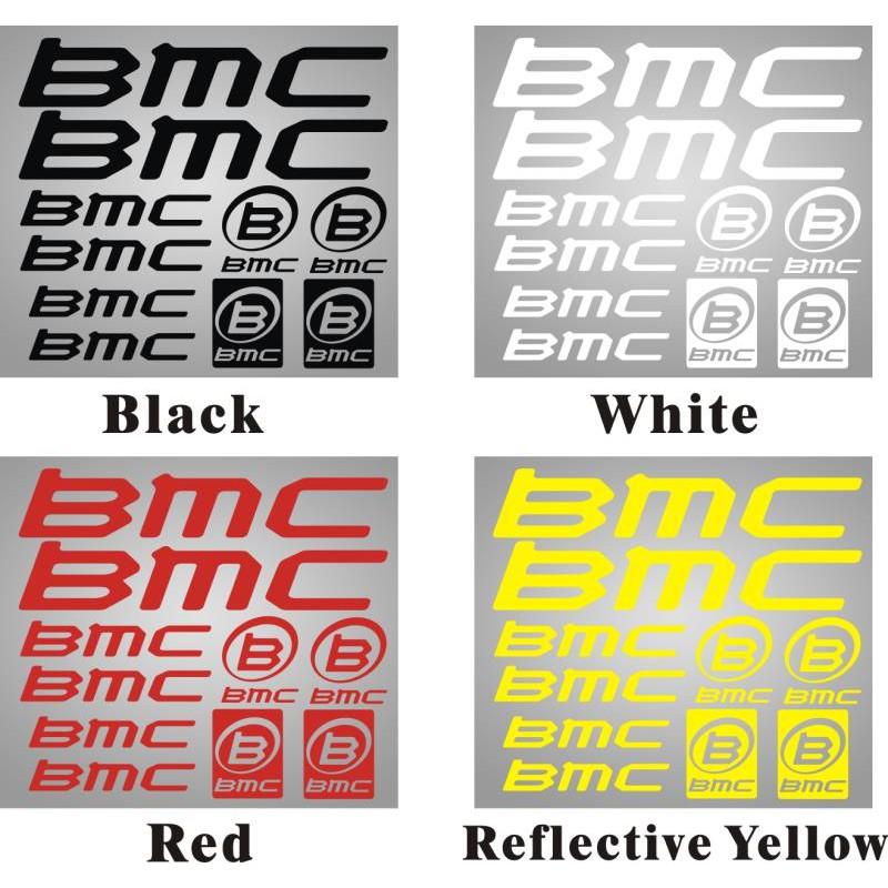 極速貼紙*自行車貼紙 公路車山地車車架貼紙 BMC diy個性車架貼紙