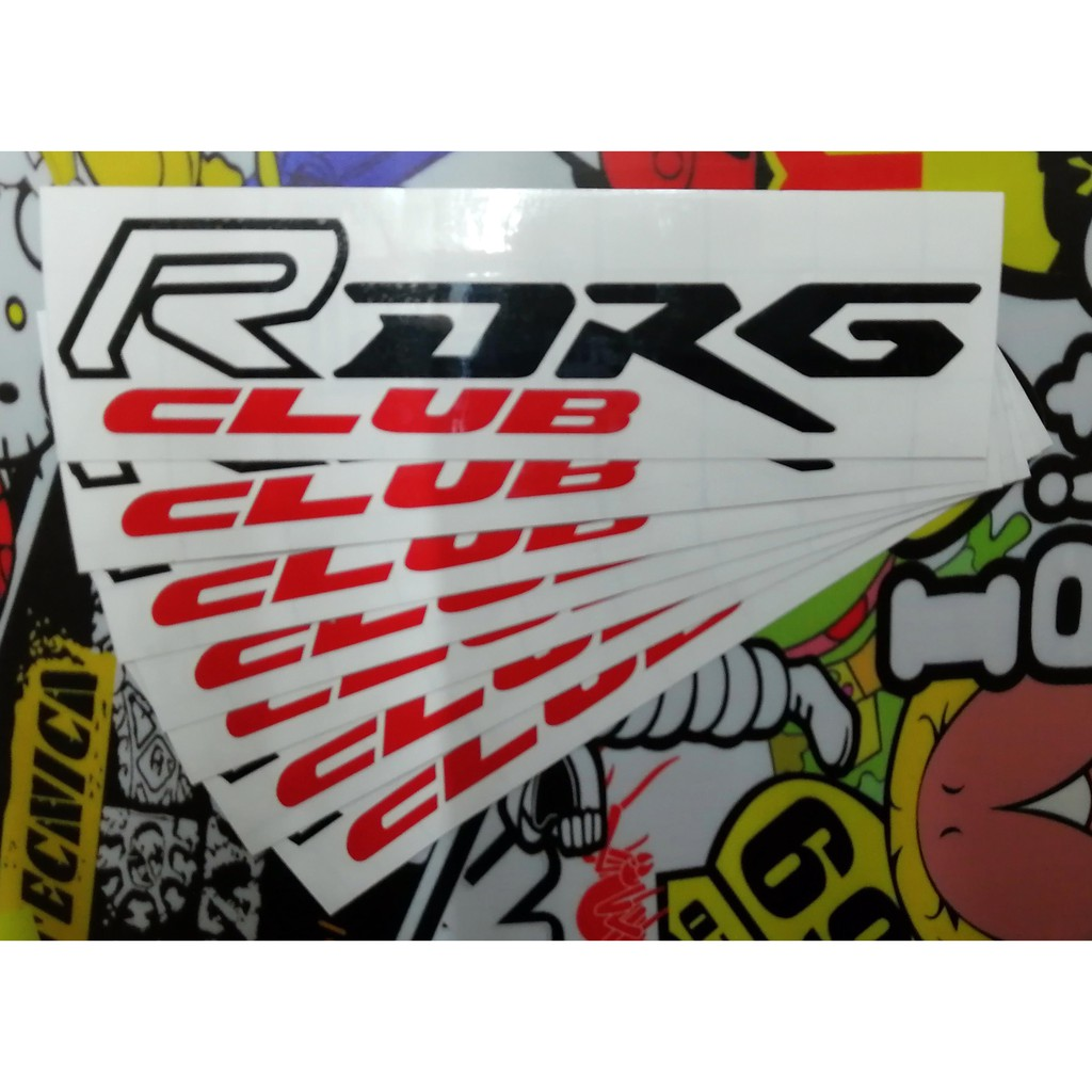 SYM DRG CLUB DRG RACIONG 車身貼紙