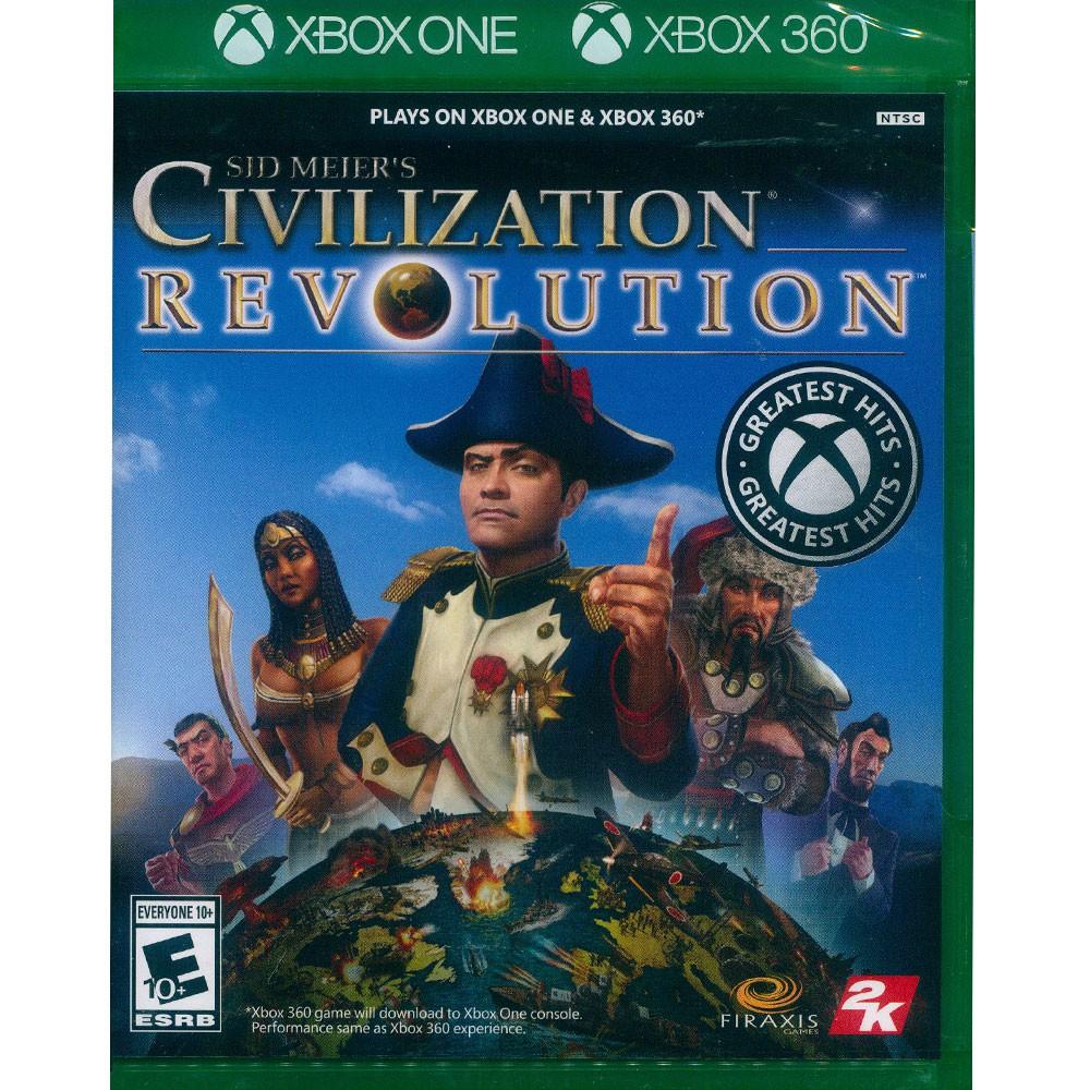 XBOX ONE /XBOX360 文明帝國:革新 英文美版 Sid Meier's Civilization【一起玩】