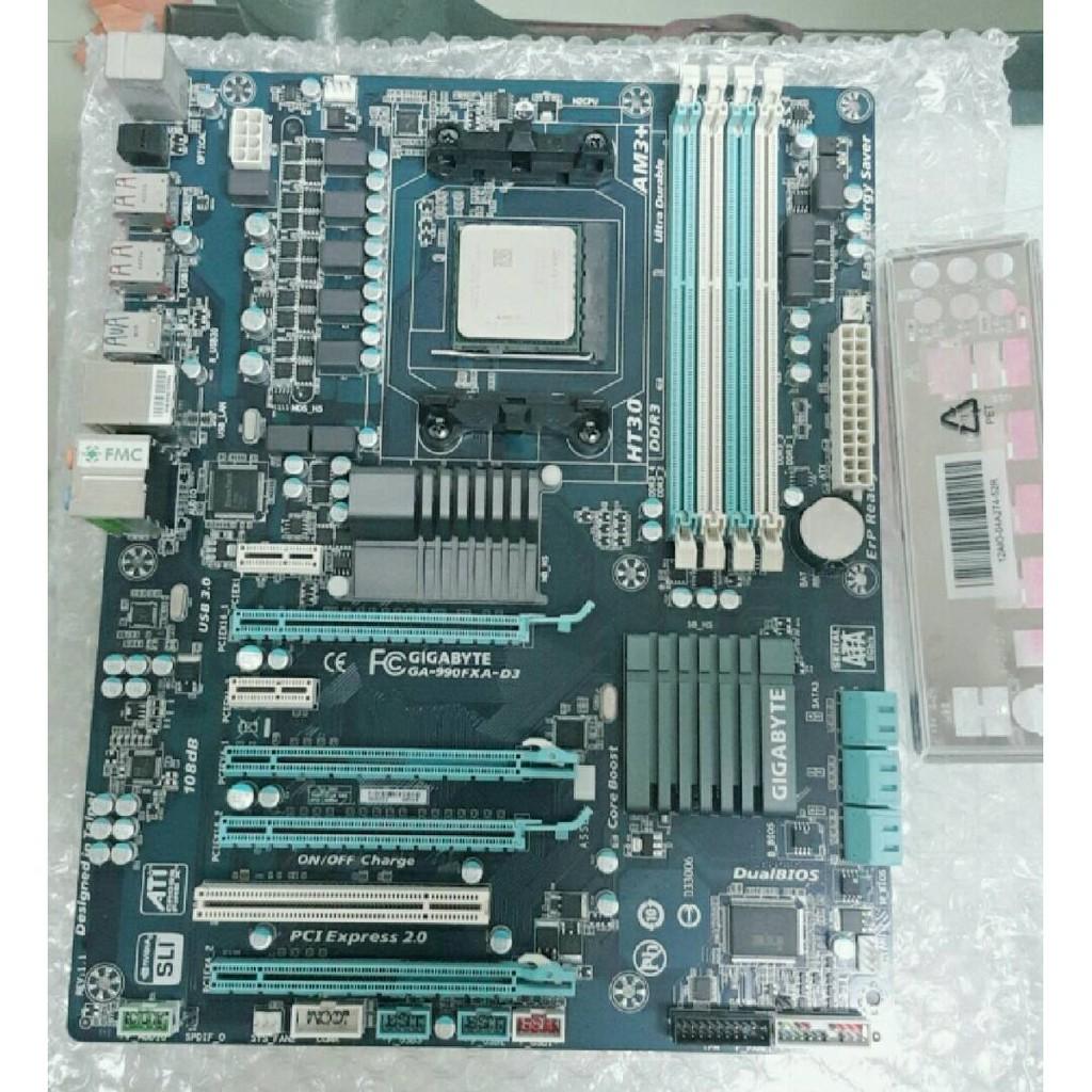 AMD FX-8120 + GA-990FXA-D3  附檔板
