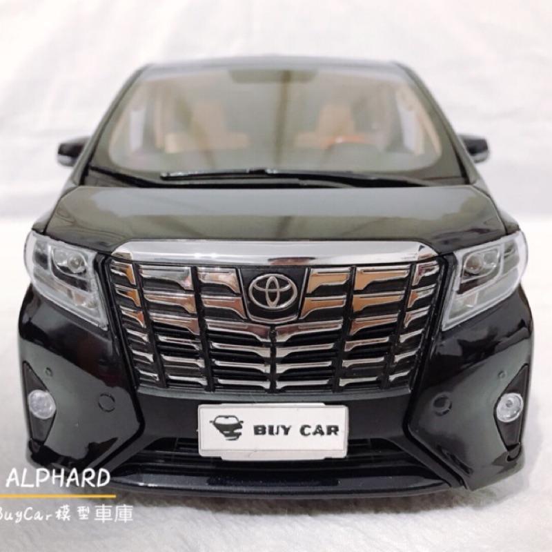 🙋🏻♂️BuyCar模型車庫 1:18 Toyota Alphard模型車