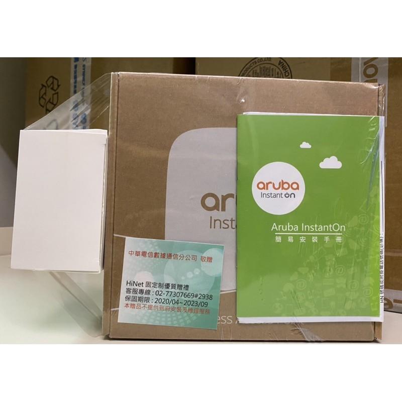 全新 HPE Aruba Instant On 無線基地台 AP12 / 室內型路由器(分享器)