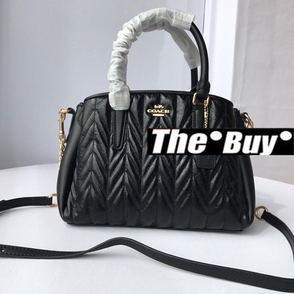 THEBUY-COACH 蔲馳 30650 新款麥穗菱格手提包 美國設計 時尚精品 美國代購