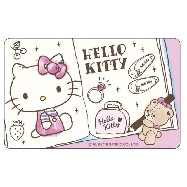 三麗鷗HELLO KITTY 悠遊卡-塗鴉本