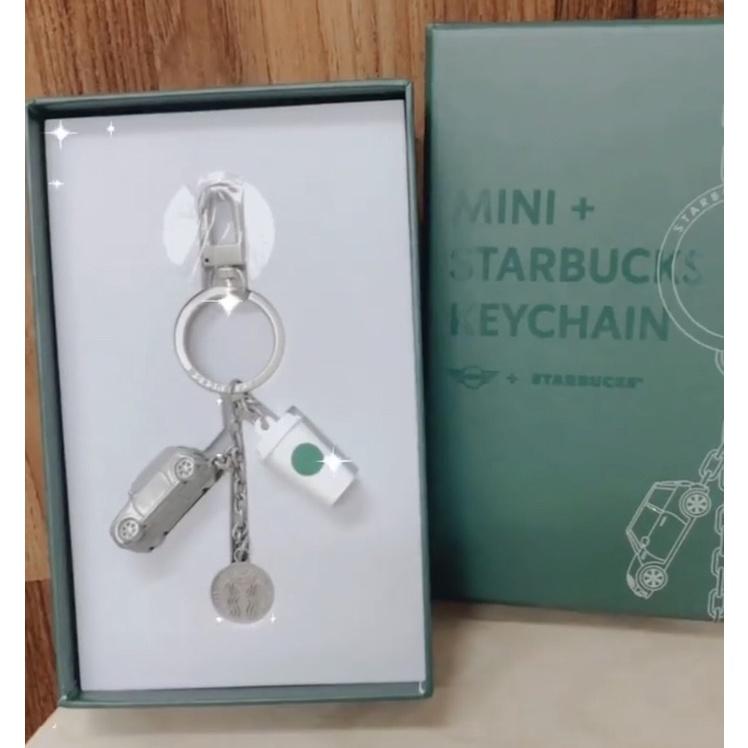 現貨 韓國星巴克 Mini Cooper  Starbucks 吊飾 鑰匙圈