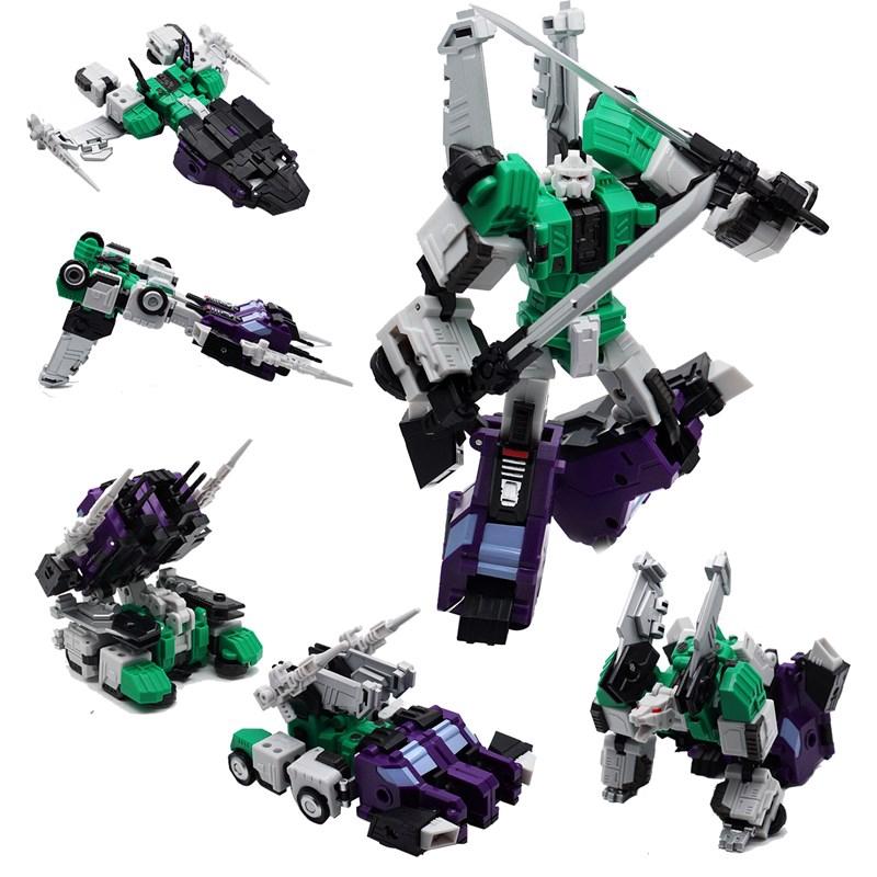 變形金剛🌞玩具 機器人 MFT六面獸MF27G G1小比例口袋版 MF-27G忍者參謀