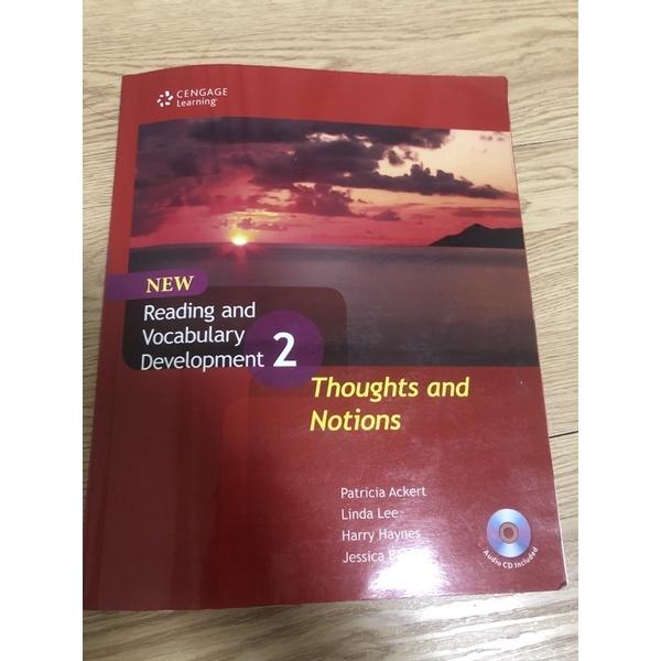 大學用書 reading and vocabulary development 2