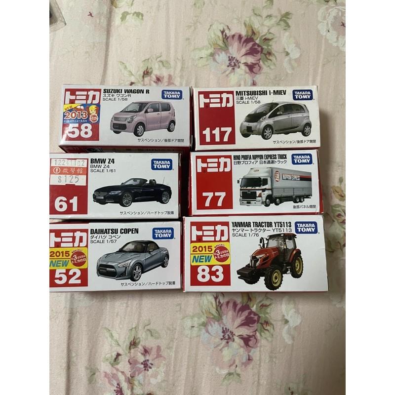 TOMICA 多美小汽車658、117、77、83
