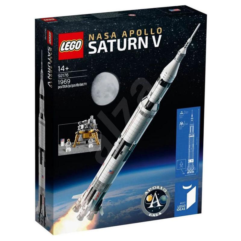 【現貨 關注減*100】【LEGO】樂高復刻21309積木拼裝玩具92176宇航局阿波羅土星五號