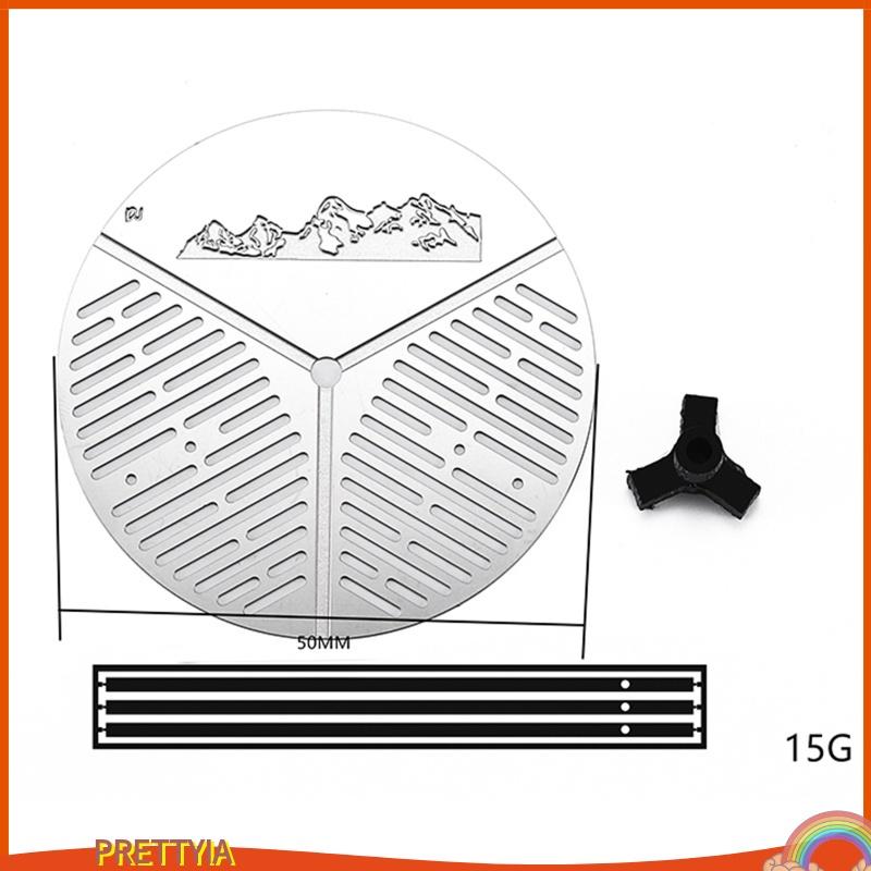 [PRETTYIA] Mn D90 D91 1: 12 RC 履帶升級零件的金屬備用輪胎支架