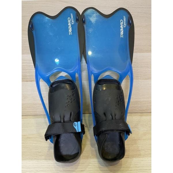 🐬迪卡儂蛙鞋 自由潛水 浮潛 潛水 潛水襪 海邊
