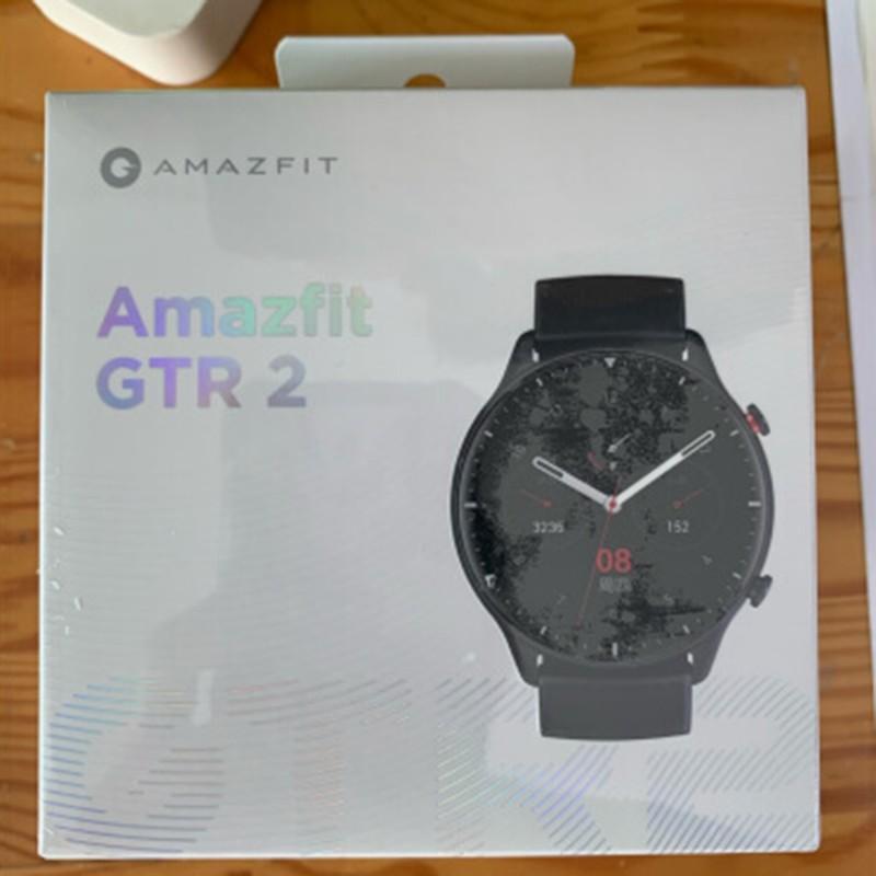 華米Amazfit GTR2智慧手錶 3D玻璃工藝 獨立音樂播放 藍牙通話 小愛同學 心率檢測 血氧 NFC