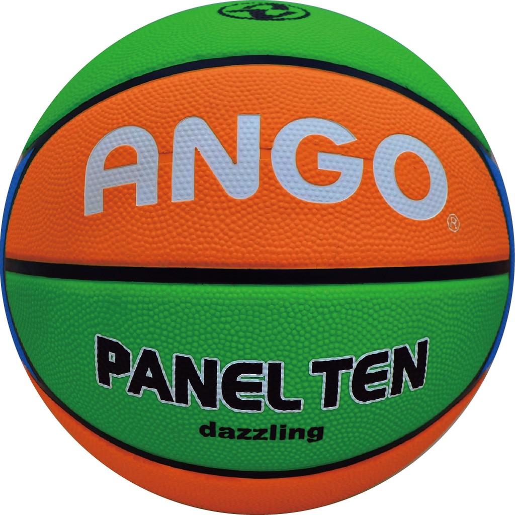 【ANGO】十片炫彩教學專用籃球 6號籃球5號球女子籃球 校隊訓練 學校團體 室外水泥地耐磨 多色可選