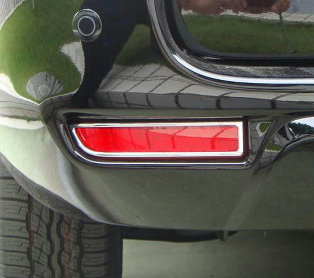 圓夢工廠 Toyota Previa 2006-2015年 鍍鉻後保桿燈框 後反光片框