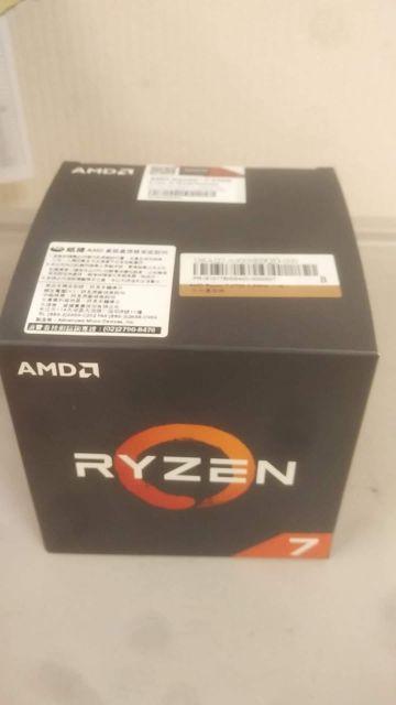 AMD Ryzen 7 2700 R7 2700 威建代理