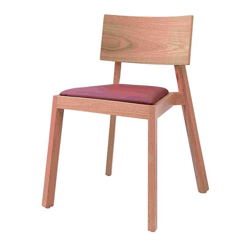【YA776-1】833實木餐椅(原木色)