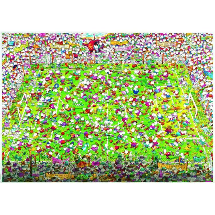 正品現貨 HEYE 29072 德國 進口拼圖 瘋狂足球 4000片 雷諾瓦