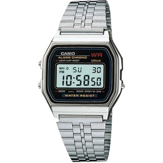 Casio卡西歐方形手錶 電子錶 腕錶男女 鬧鈴LED男女同款 數位金色黑色 中性復古A-168 A700w 臺中市