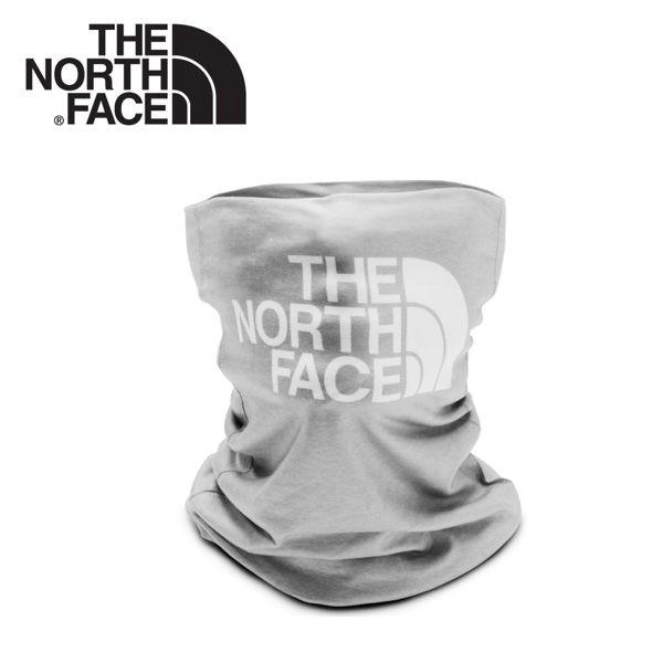 【The North Face LOGO排汗頭巾《中灰》】CGV7/魔術頭巾/圍巾/口罩/圍脖/帽子/悠遊山水
