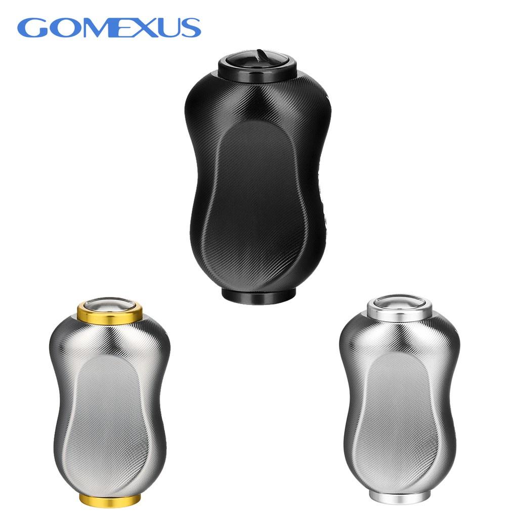 > 本島快速出貨< Gomexus 鋁合金指紋型 握丸 22mm shimano daiwa 小烏龜 紡車輪 捲線器