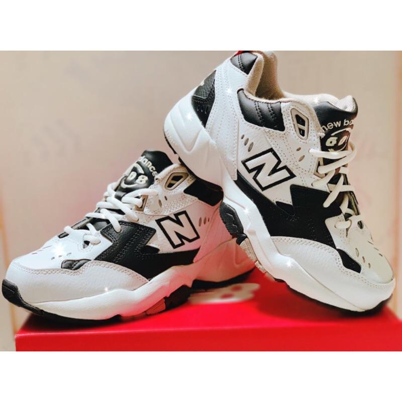 NB608老爹鞋 黑白