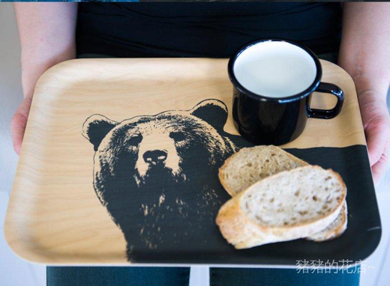 #進口 代購芬蘭muurla 樺木托盤 北歐風格環保茶盤果盤 原色系列 多款多規格