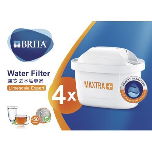 BRITA MAXTRA Plus濾芯-去水垢4入(LE P4)[大買家]