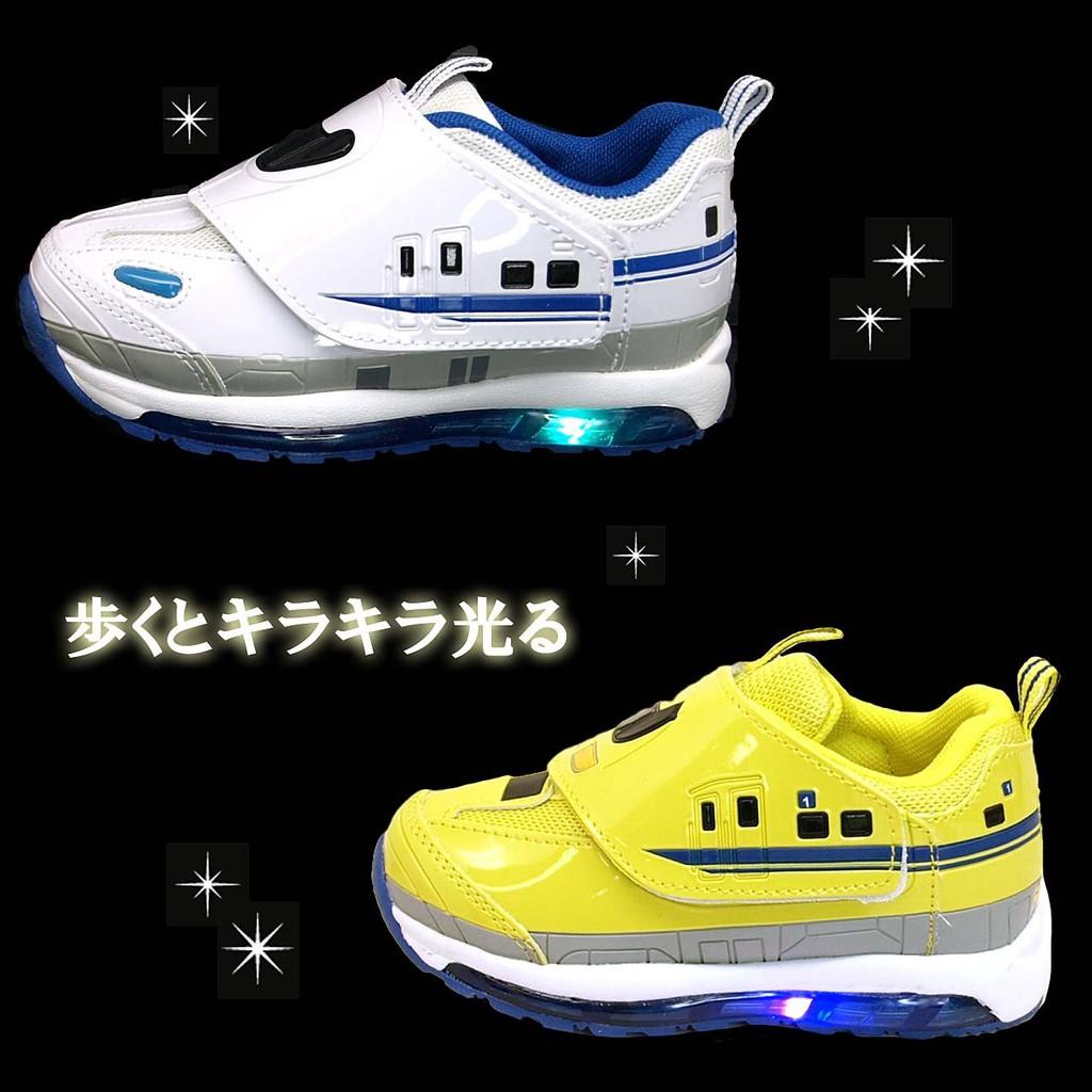 日本正品PLARAIL 新幹線 LED發光 輕量 兒童運動鞋 鐵道王國 電車 男童鞋 N700系923型