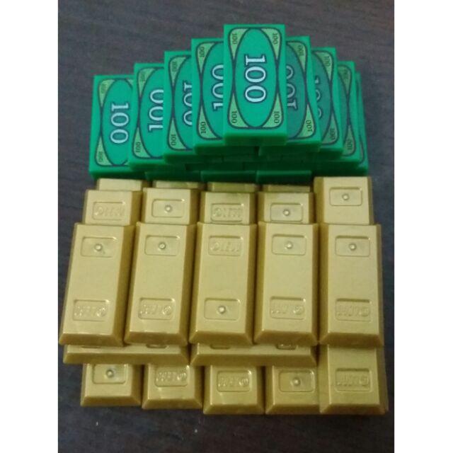 [qkqk] 全新現貨 LEGO 21322 10251 鈔票 錢 金銀財寶 金塊 銀磚 銀條 樂高城市系列