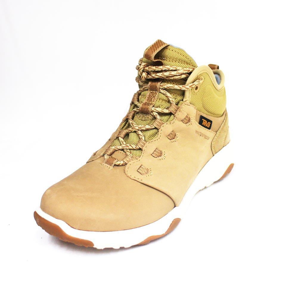TEVA 女 Arrowood 2 Mid WP 真皮 輕量中筒防水 登山鞋 筒靴 TV1093967DSND 駝色