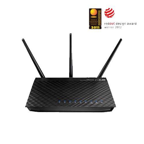 【僅拆封內全新】華碩 Asus RT-N66U Wireless-N900 Gigabit 無線分享器