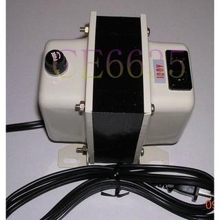 日本電器 110V降100V 降壓器 AC-1500W (附送二個備用保險絲) 新北市