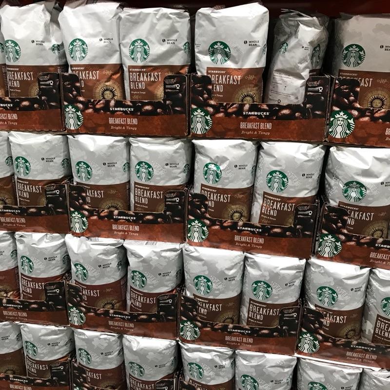 好市多 Starbucks星巴克早餐綜合咖啡豆 1.13公斤