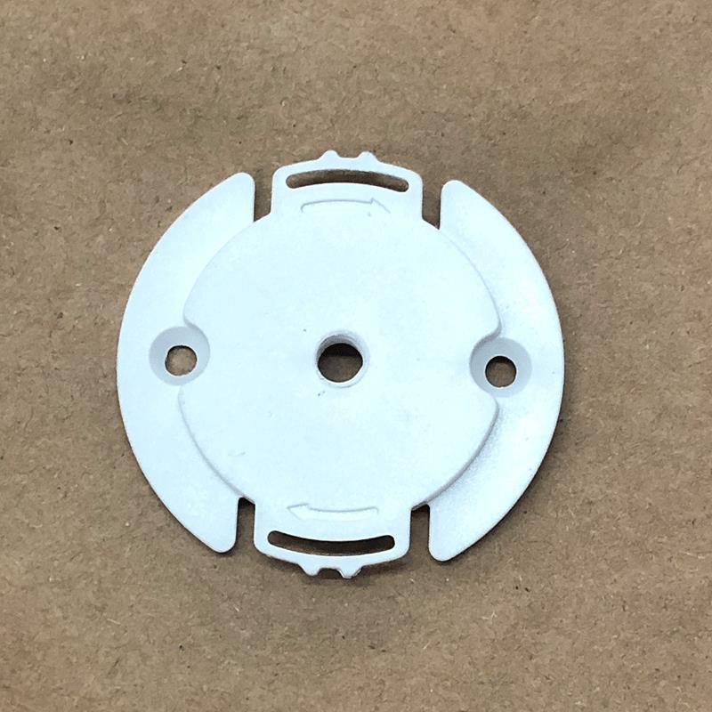小型监控支架適用小米家攝像機頭雲台版2K小白監控上牆安裝底座盤支架卡扣配件