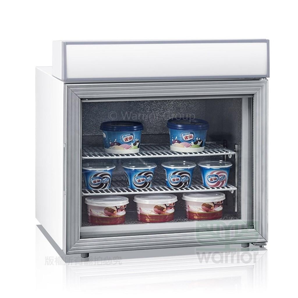💎冷凍王💎Warrior【直立式桌上型冷凍櫃】冰淇淋櫃 桌上型玻璃冰箱 冷凍展示櫃 冷凍櫃 冷凍小冰箱 (SD-45A)