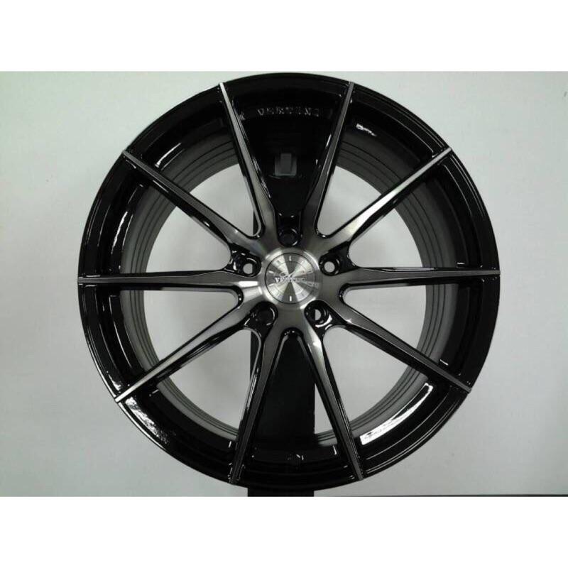 品牌圈VERTINI RF1.1 19吋5孔114.3黑底染黑透前後配旋壓輕量鋁圈 價格標示88非實際售價 洽詢優惠中