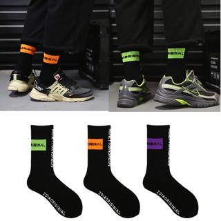 【US001】Orginal Block Design  ScewSocks  長襪 潮流長襪 襪子 男襪 女襪 中性 台北市