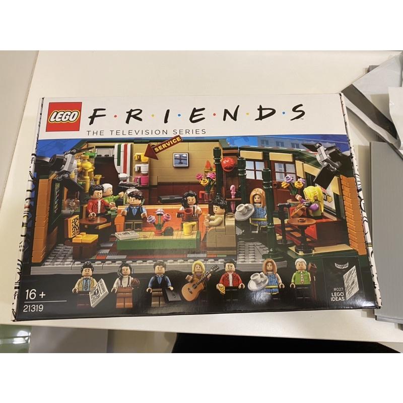 Lego21319六人行中央咖啡廳