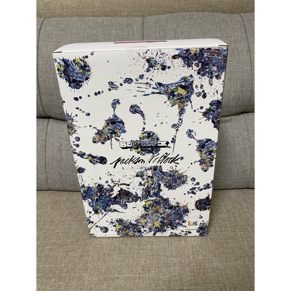 BE@RBRICK Jackson Pollock Studio SPLASH 潑墨 3代 400% + 100% 全新