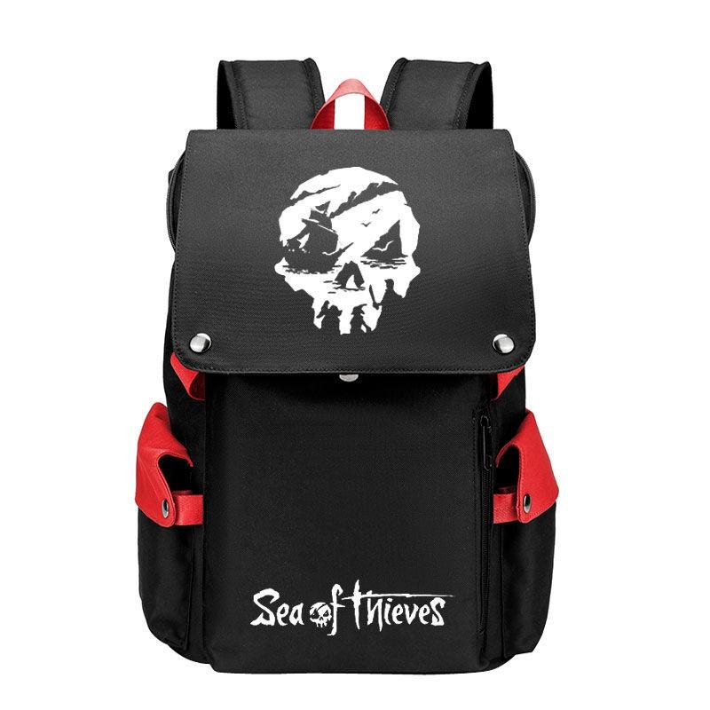 盜賊之海書包 Xbox One游戲周邊 初高中學生 雙肩電腦背包 旅行包