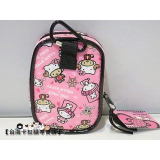 SUPER日式卡通精品 三麗鷗系列家族 Hello Kitty & 喬巴 聯名相機包/ 手機袋/ 零錢包 粉色款 臺南市