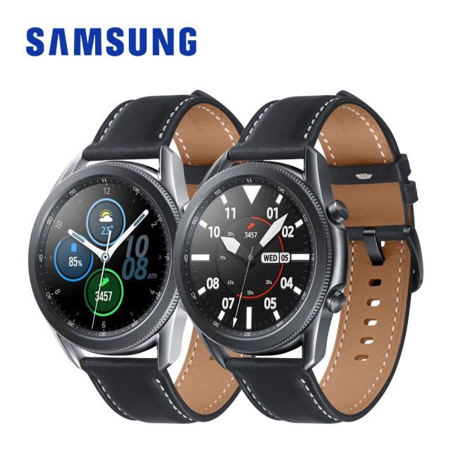 二手 免運 Samsung Galaxy Watch 3 血氧量測(藍牙/45mm,送保貼)