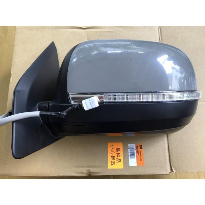 MITSUBISHI 正廠 OUTLANDER 年份08-12 照後鏡 後照鏡 後視鏡 電動摺疊+後視鏡燈 含除霧 9線