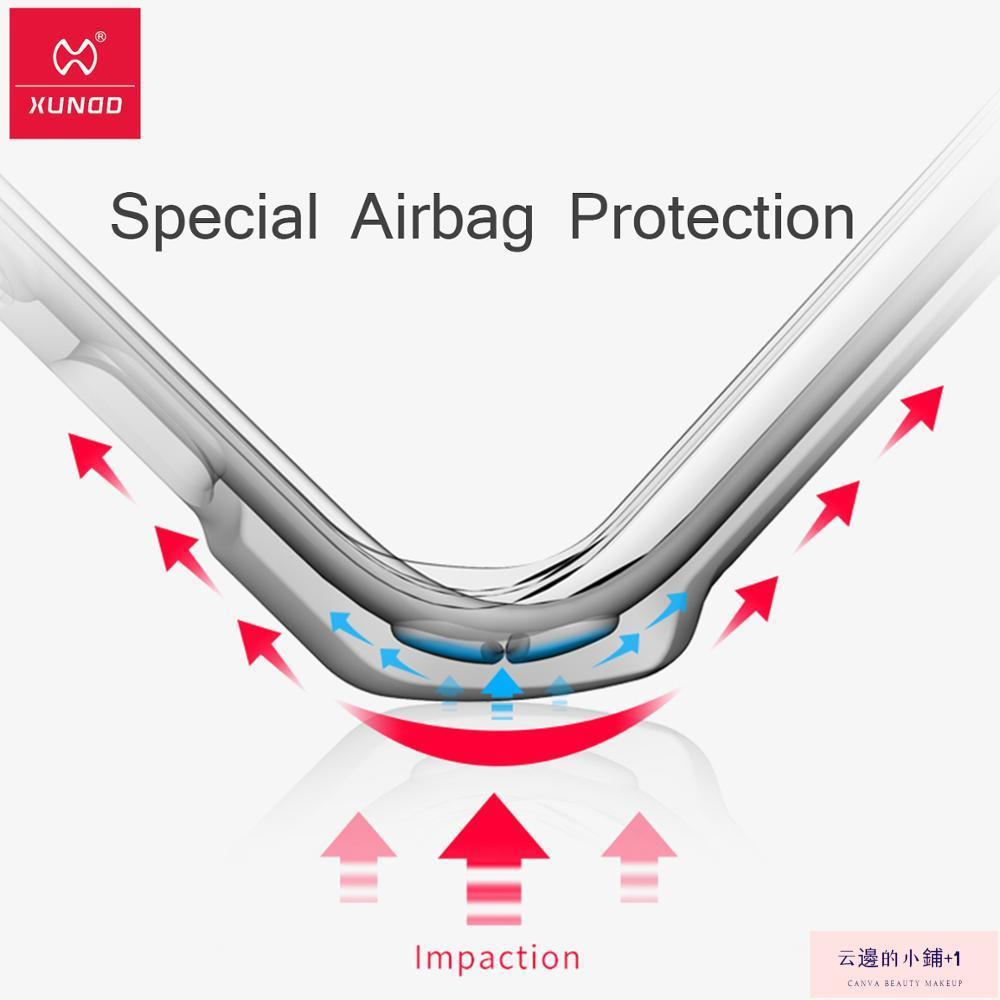 Ipad Air 4 透明保護套的 Xundd 防震套云邊的小鋪+1