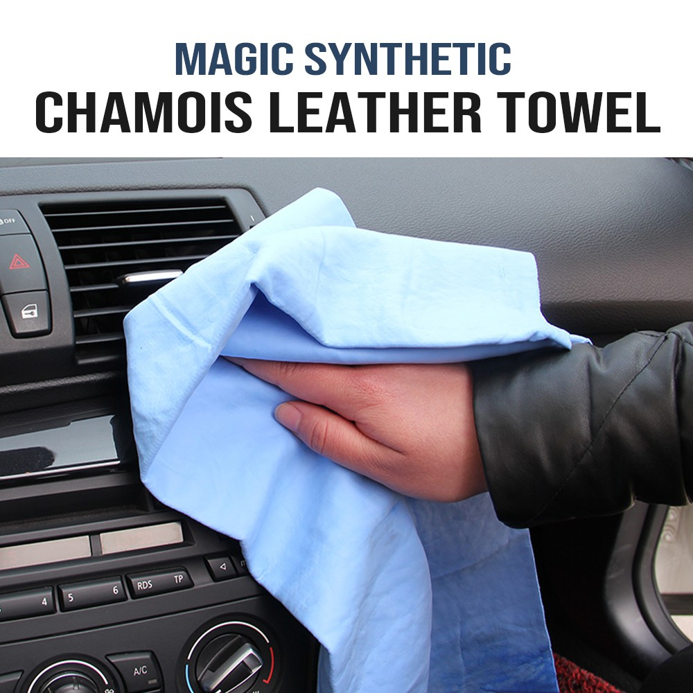 Absorber Synthetic Chamois Leather Car Washing仿鹿皮巾[CY0018]