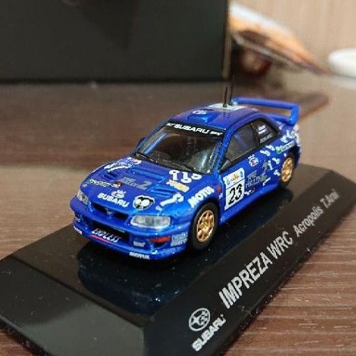 日本代購 CM's 1/64 Subaru impreza WRC